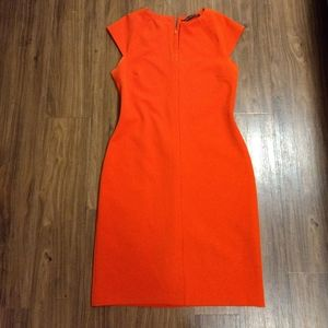 Zara Orange Dress size Large